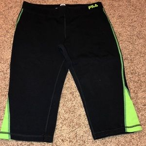 Fila workout Capri